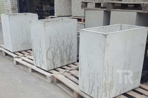Lauko vazonas G - 9 (natūralus betonas be apdailos)