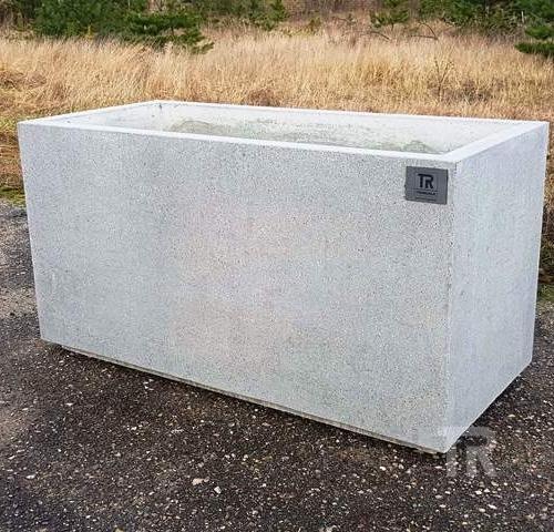Lauko vazonas G-8 (šlifuotas betonas)
